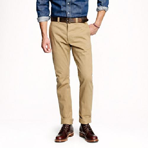 Selvedge Chino by Wallace & Barnes in Neighbors