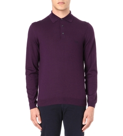 Banet Knitted Polo Shirt by Hugo Boss in How To Get Away With Murder