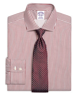 Non-Iron Regular Fit Bengal Stripe Dress Shirt by Brooks Brothers in The 33