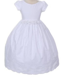 Cotton Communion Dresses Flower Girls Dress by BNY Corner in Atonement
