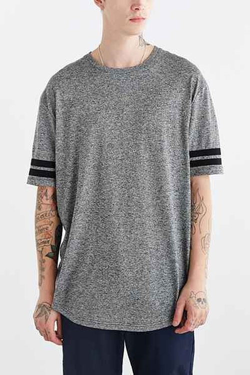 Athletic Curved-Hem Long Tee by The Narrows in Barbershop: The Next Cut