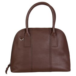 Leather Dome Satchel Handbag by Hadaki in Modern Family