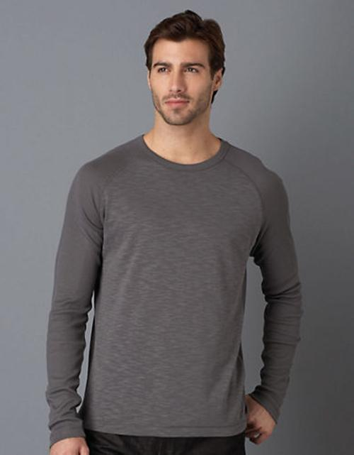 Long Sleeved Crew Neck Shirt by Hugo Boss in Ride Along