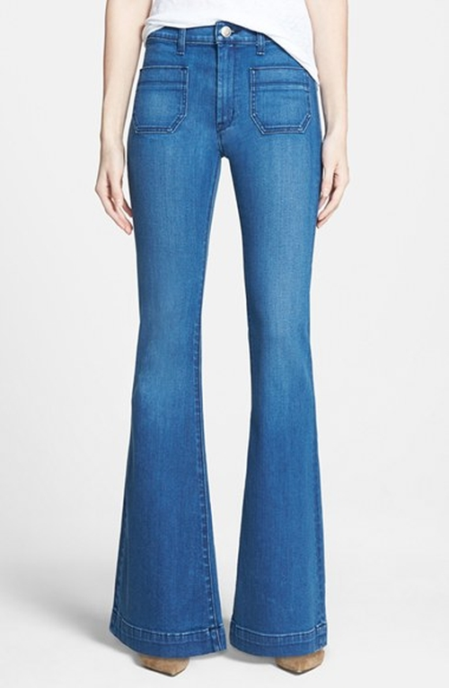 Taylor High Rise Flare Jeans by Hudson Jeans in Pretty Little Liars - Season 6 Episode 5