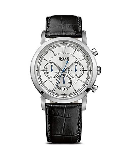 Boss Black Chronograph Watch by Hugo Boss in Couple's Retreat