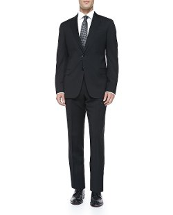 Basic Wool Suit by Armani Collezioni in The Counselor