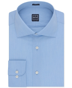 Danish Blue Dobby Dress Shirt by Ike Behar in Unfinished Business