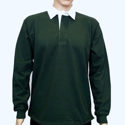 Monogram Contrast Collar Rugby Shirt by Amazon in Silicon Valley