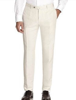Linen & Silk Trousers by Canali in Top Five
