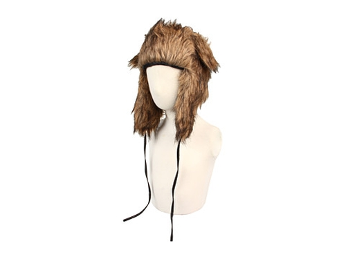 Plush faux fur hat by San Diego Hat Company in Paper Towns