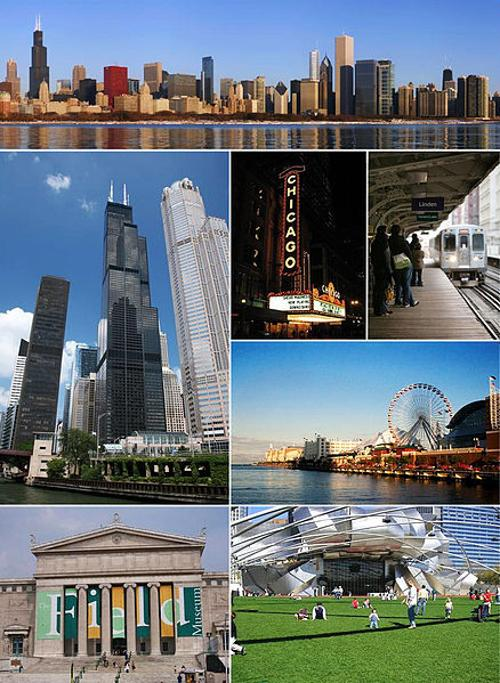Chicago Illinois in Transformers: Age of Extinction