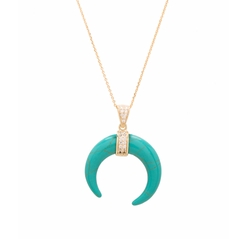 Crescent Moon Necklace by Joolz by Martha Calvo in Animal Kingdom