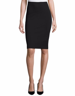 Milano Jersey Pencil Skirt by Armani Collezioni in Suits