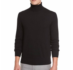 Cashmere-Silk Turtleneck Sweater by Neiman Marcus in John Wick: Chapter 2