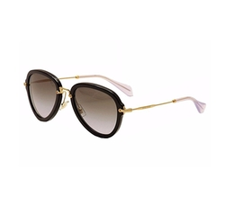 03QS Sunglasses by Miu Miu in Atomic Blonde