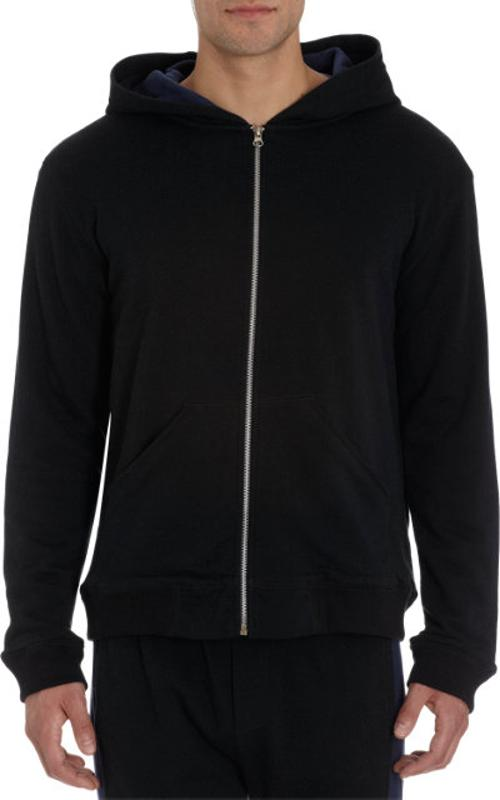 Zip Front Hoody Jacket by ATM Anthony Thomas Melillo in Savages