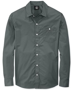 Everett Solid Shirt by Volcom in Ted 2