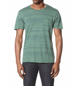Wave Stripe Tee by Splendid Mills in Love, Rosie