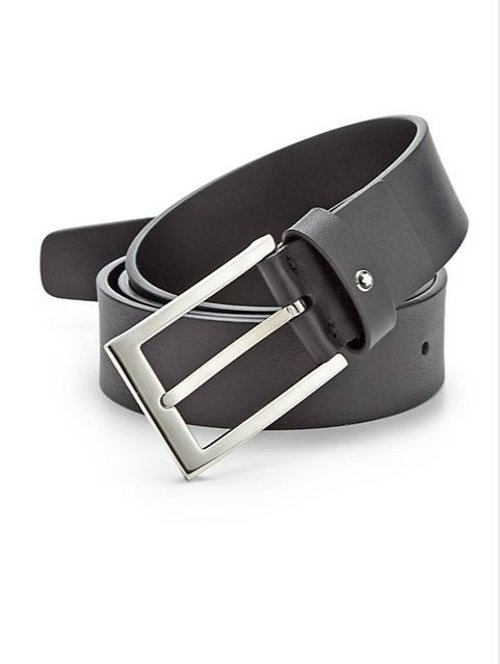 Classic Leather Belt by Montblanc in John Wick