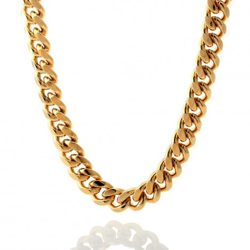 Miami Cuban Curb Chain Necklace by King Ice in Barbershop: The Next Cut