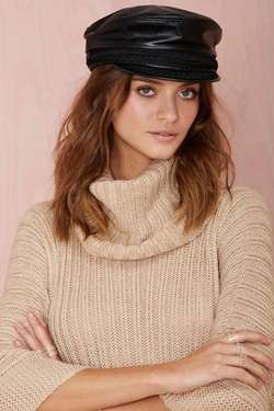 Leather Fisherman Hat by Nona in Unbreakable Kimmy Schmidt