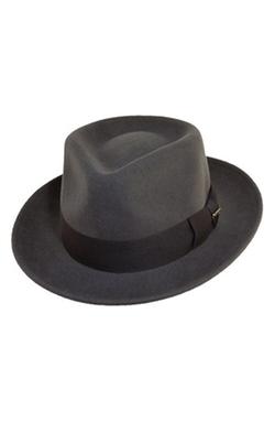 'Classico' Wool Felt Fedora Hat by Scala in Hail, Caesar!