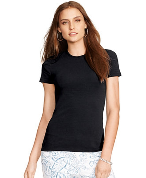 Petite Crew-Neck T-Shirt by Lauren Ralph Lauren in Secret in Their Eyes