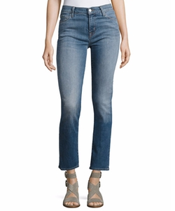Maude Mid-Rise Jeans by J Brand in Unbreakable Kimmy Schmidt