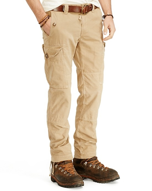 Montauk Ripstop Cargo Pants by Ralph Lauren in The Gunman