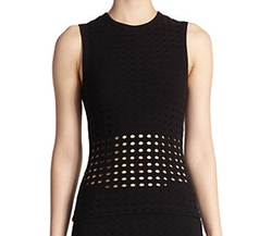 Perforated Tank Top by T by Alexander Wang in Shadowhunters