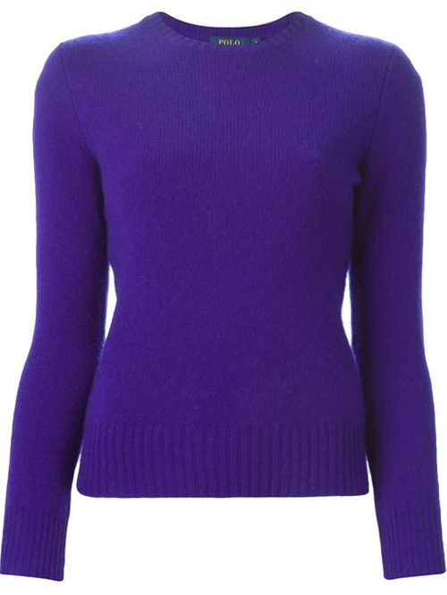 Crew Neck Sweater by Polo Ralph Lauren in Confessions of a Shopaholic