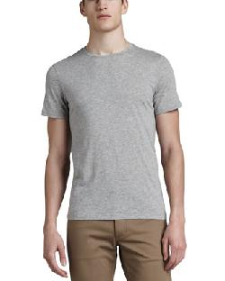 Crew-Neck Tee by Theory in Oculus
