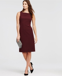 Sleeveless Sheath Dress by Ann Taylor in Quantico