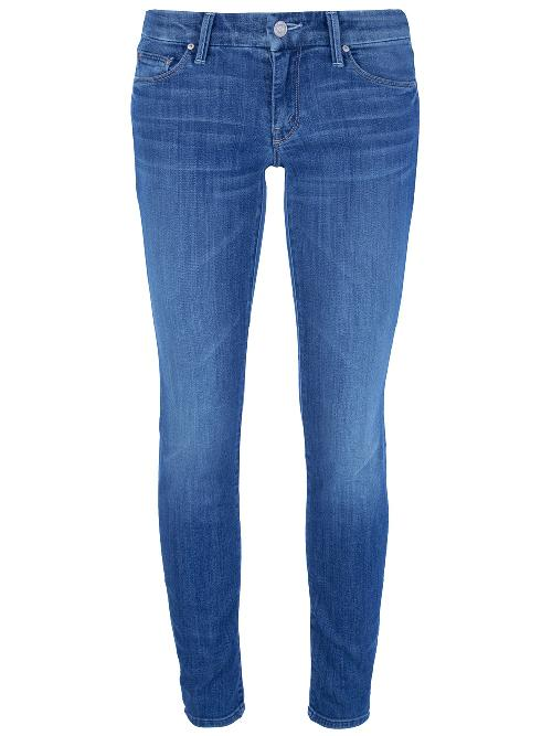 Faded skinny jean by MOTHER in Blended