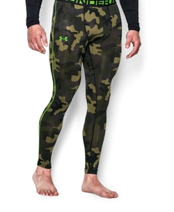 Men's Sonic Night Vision Compression Legging Pants by Under Armour in Ballers