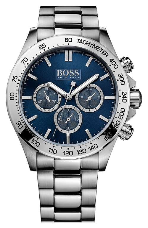 Round Chronograph Bracelet Watch by Hugo Boss in Adult Beginners