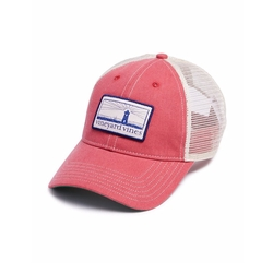 Lighthouse Logo Patch Trucker Hat by Vineyard Vines in American Assassin