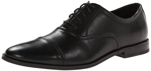 Nino Leather Oxford Shoes by Calvin Klein in Barely Lethal