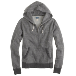 Full-Zip Hoodie Jacket by J. Crew in The Good Wife