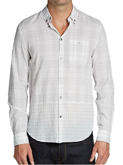 Washington Plaid Sportshirt by Marc Jacobs in Project Almanac