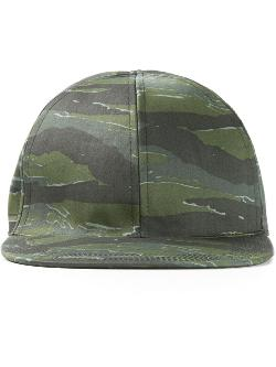 Camouflage Baseball Cap by A.P.C. in The Expendables 3