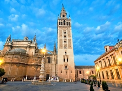 Seville, Spain by Giralda Tower in Assassin's Creed
