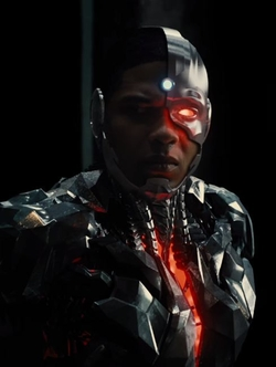 Cyborg by Victor James Martinez (Concept Artist) in Justice League