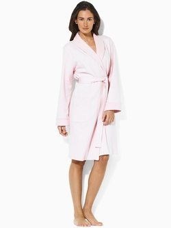 Quilted Shawl-Collar Robe by Ralph Lauren in Pretty Little Liars