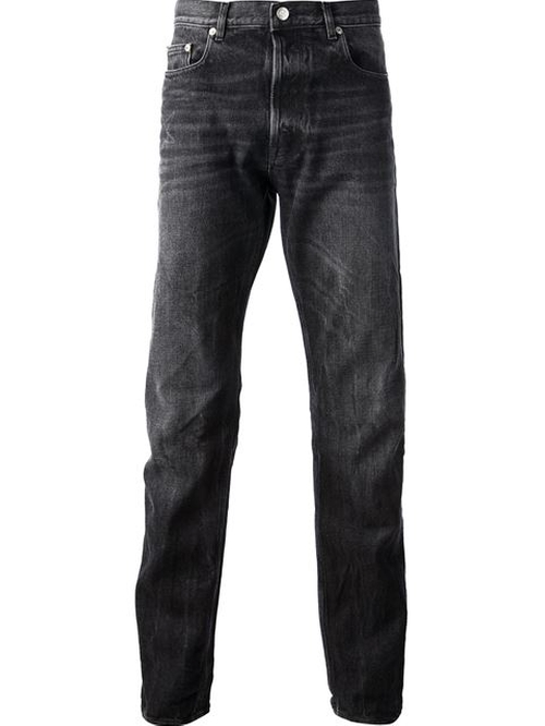 Washed Denim Jeans by Golden Goose Deluxe Brand in Straight Outta Compton