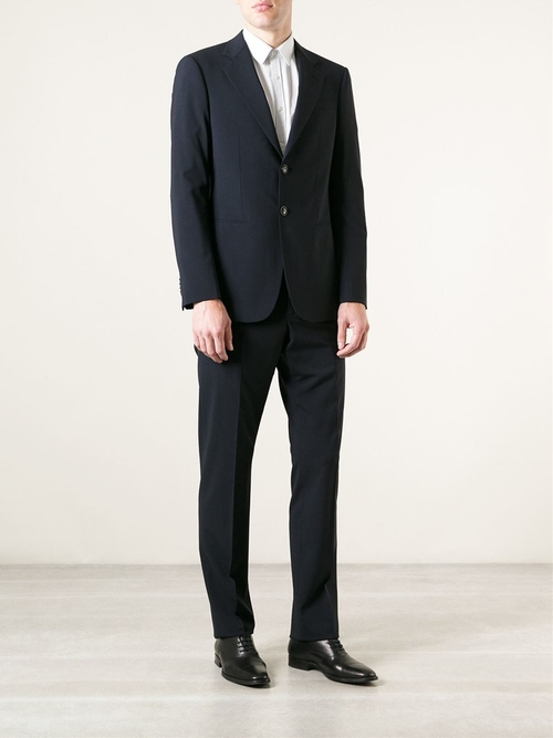 Two Piece Suit by Giorgio Armani in Suits - Season 5 Episode 8