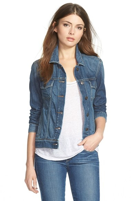 'Rowan' Denim Jacket by Paige Denim in Steve Jobs