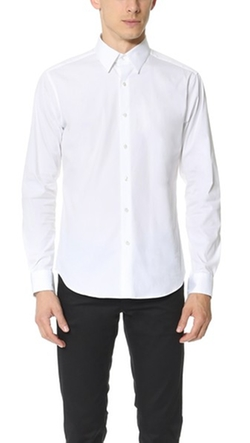Sylvain Solid Dress Shirt by Theory in Suits