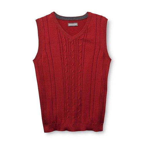 Boy's Sweater Vest by Dockers in Drive