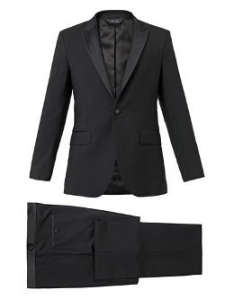 Byard Peak-Lapel Dinner Suit by Paul Smith London in Black or White